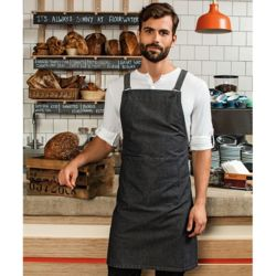 Cross back 'barista' bib apron Thumbnail