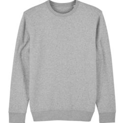 Unisex Changer Iconic Heather Crew Neck Sweatshirt Thumbnail