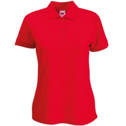 Womens Polo Shirt (Fruit of Loom) - Premium Thumbnail